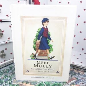 American Girl Meet Molly Original Hard Cover Book